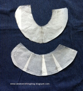 Collar before & after adjustment
