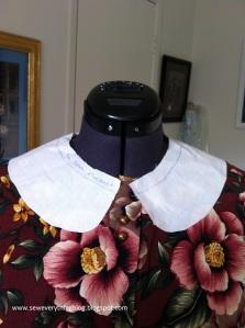 Muslin collar