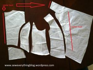 Jacket body draft