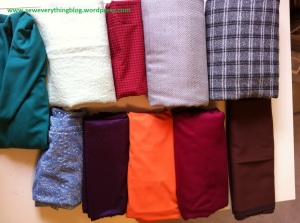 Fabric stash pantone 2