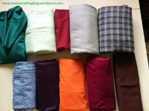 Fabric Stash Pantone
