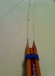 pencil tool for seam allowances