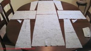Kurta fabric sewing layout