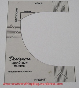 neckline drawing tool