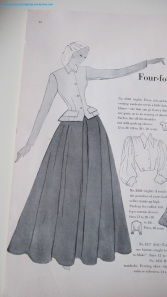 Pattern resembling Christian Dior's Bar Suit