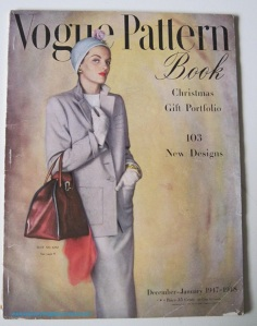Vogue Patterns 1947 and 48