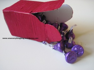 Candy spill