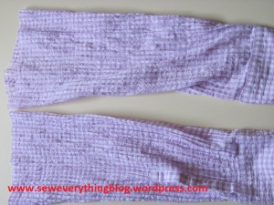 Chopped sleeves