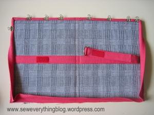 Binder clip binding