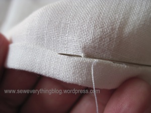 1st stitch