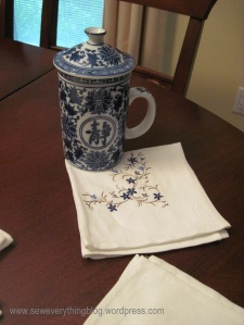 Tea & napkin