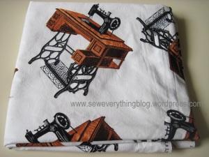 Sewingroom curtains
