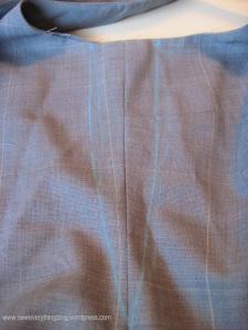 Slip Stitch chalk mark