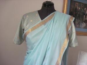 blouse sari