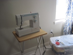 Improv Sew Table