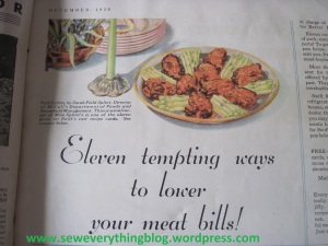 Meat bills