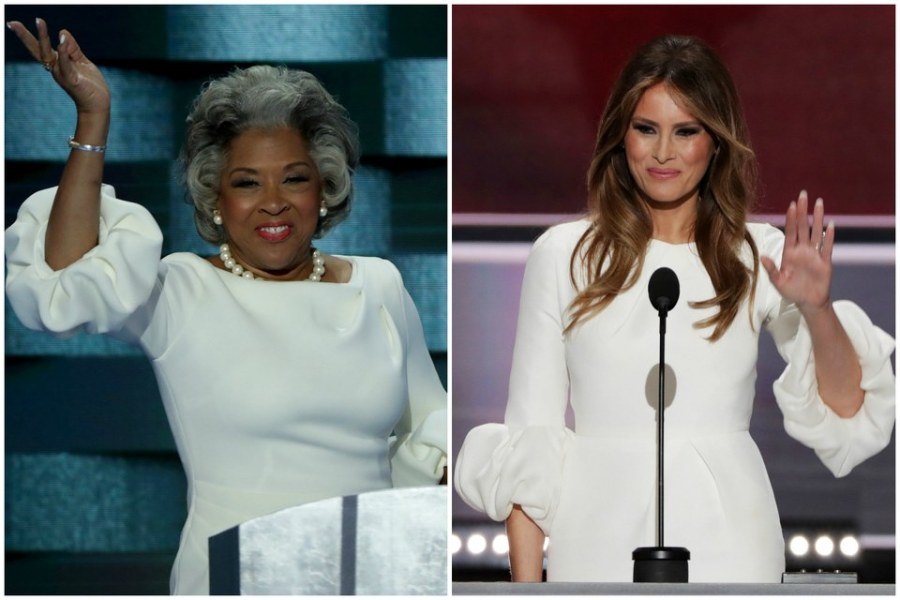joyce-beatty-melania-trump-dresses