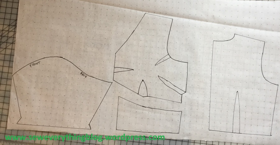blouse tracing