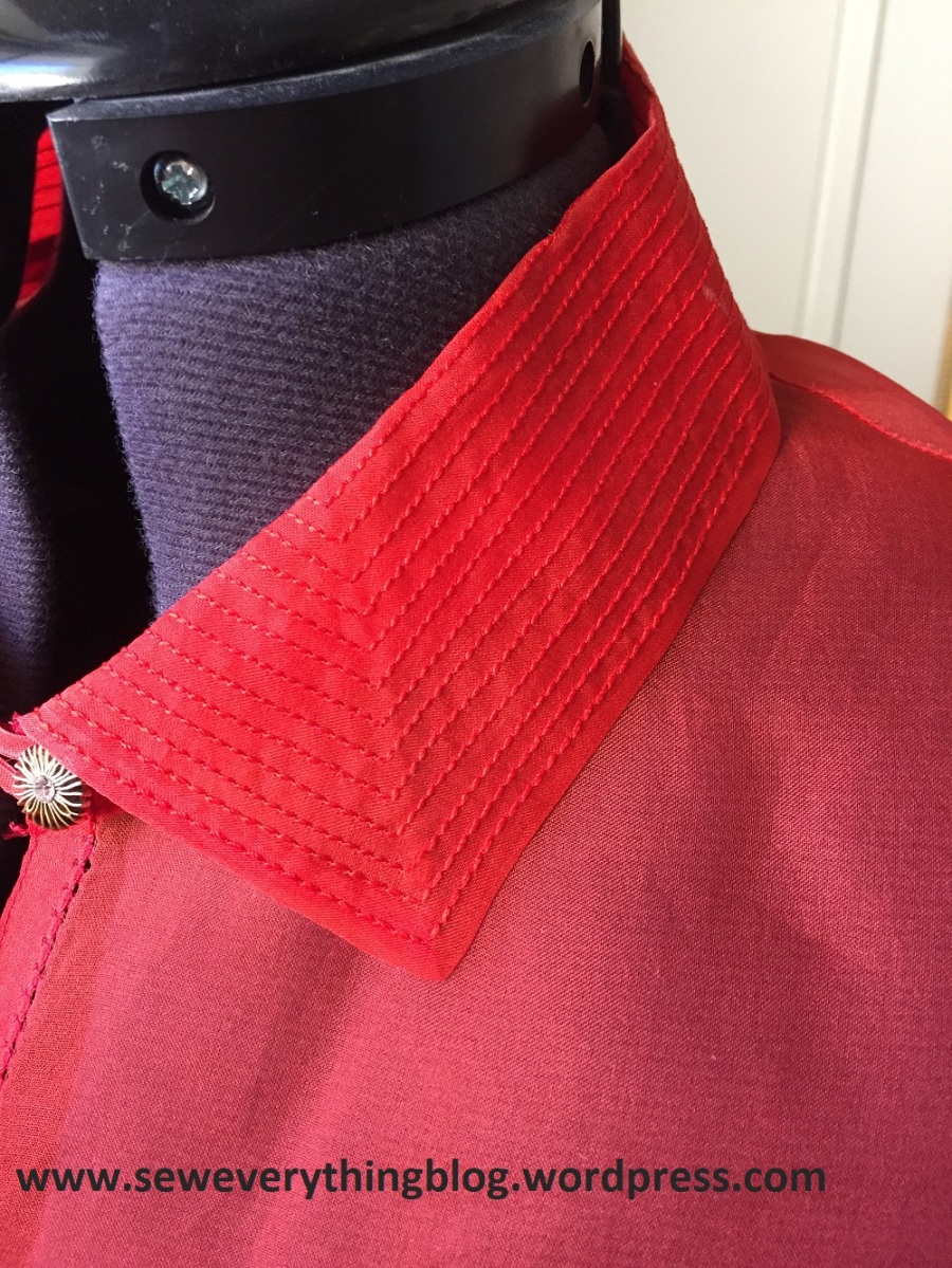 Too Much Thread Can be a Good Thing: Multiple Rows of Top-Stitching